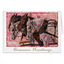 Percheron Holiday Card