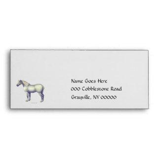Percheron Horse Envelope