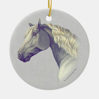 Percheron Horse Head Ornaments