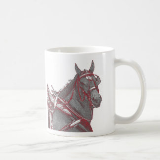 Percheron Horse Mug