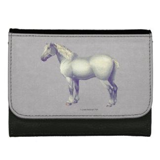 Percheron Horse Painting Wallets For Women