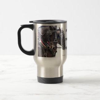 Percheron Horses Travel Mug