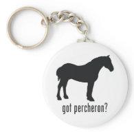 Percheron Key Chains