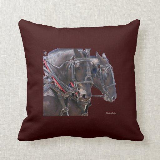 Percheron Pillow