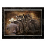 Percheron Team Digital Art Print