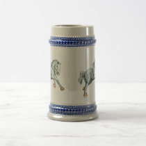 Percherons Beer Stein