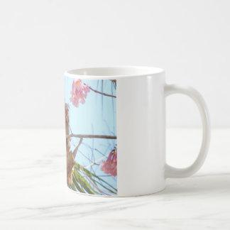 Perching Cardinal Coffee Mug