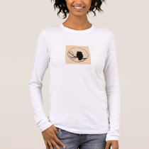 Perching Owl Long Sleeve T-Shirt