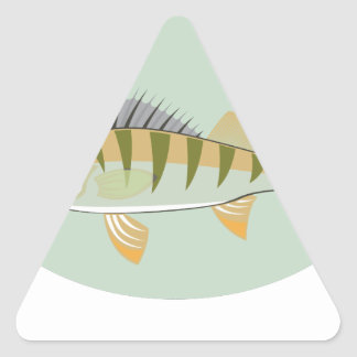 PerchVector.pdf Triangle Sticker