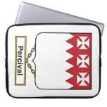 Percival Family Crest Laptop Sleeve