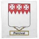 Percival Family Crest Napkin