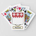 Percival Family Crest Poker Deck