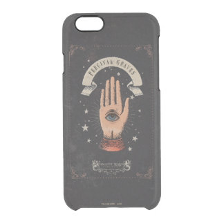 Percival Graves Magic Hand Graphic Clear iPhone 6/6S Case