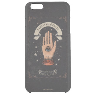 Percival Graves Magic Hand Graphic Clear iPhone 6 Plus Case