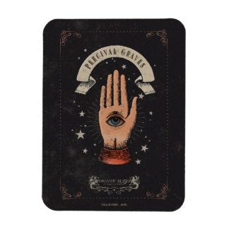 Percival Graves Magic Hand Graphic Rectangular Photo Magnet