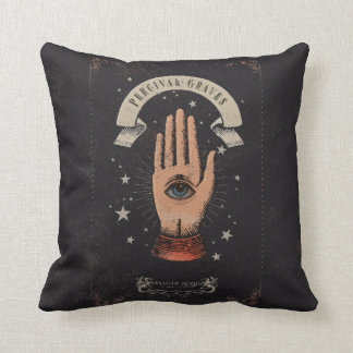 Percival Graves Magic Hand Graphic Throw Pillow
