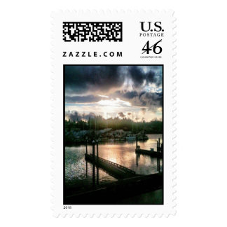 Percival Landing Large Vertical Postage Stamps