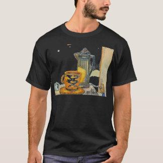 Percolating Some Coffee Black Tshirt CricketDiane