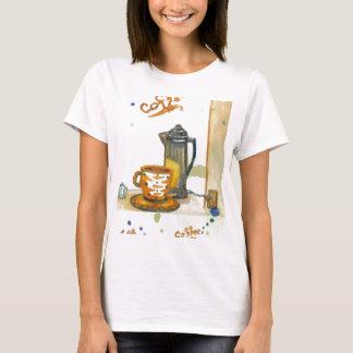 Percolating Some Coffee  CricketDiane Coffee Art T-Shirt