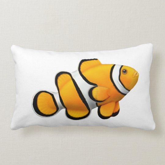 Percula Clown Anenome Fish Pillow