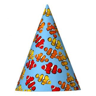 Percula Clownfish School Party Hat