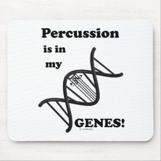 Percusión en mis genes alfombrillas de ratón