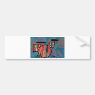 Percussion Bumper Sticker