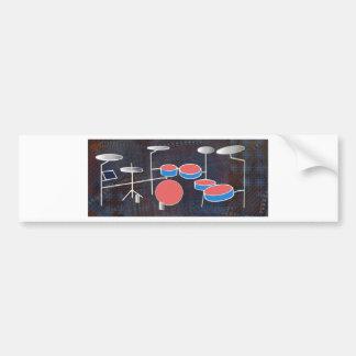 Percussion Color Bumper Sticker