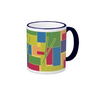Percussion Colorblocks Ringer Coffee Mug