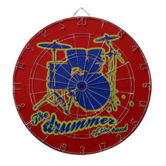 percussion drums ~ drummer dartboard