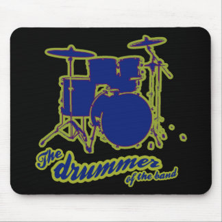 percussion drums ~ drummer mouse pad