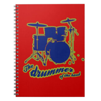 percussion drums ~ drummer notebook