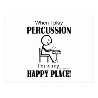 Percussion Happy Place Postcards