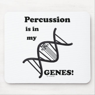 Percussion in my Genes Mouse Pad