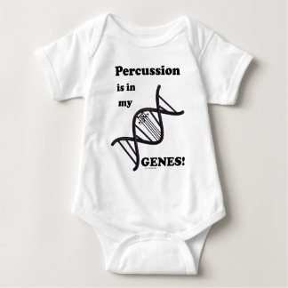 Percussion Is In My Genes Baby Bodysuit