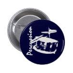 Percussion/ Snare 2 Inch Round Button
