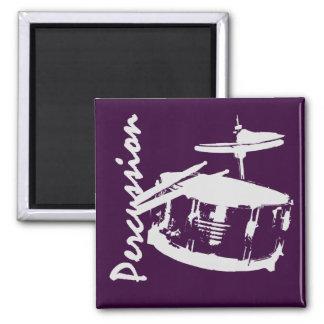 Percussion/ Snare 2 Inch Square Magnet