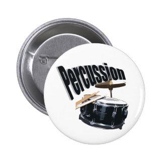 Percussion/ Snare Pinback Button