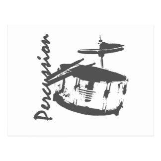 Percussion/ Snare Postcard