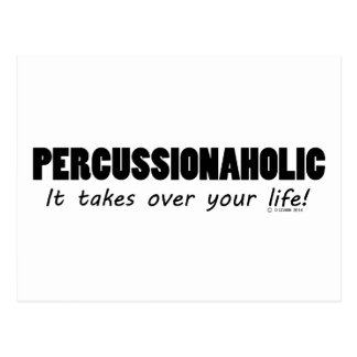 Percussionaholic Life Postcards