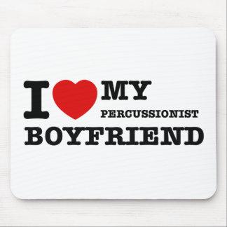 Percussionist Boyfriend Designs Mouse Pad