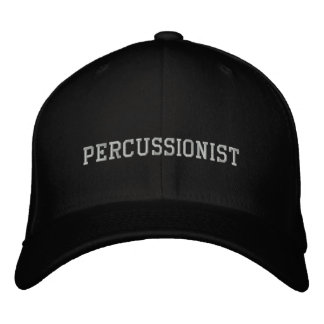 Percussionist Embroidered Hat