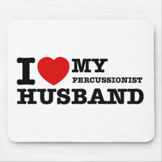 Percussionist Husband Designs Mouse Pad