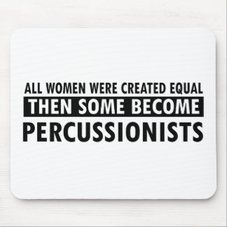 percussionist music designs mouse pad