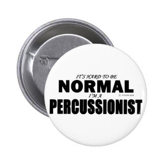 Percussionist normal pin