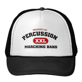 Percussions marching band hats
