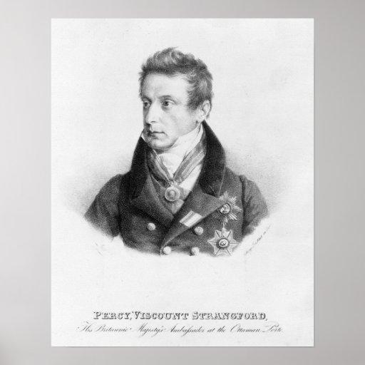 Percy, 6to vizconde Strangford Impresiones