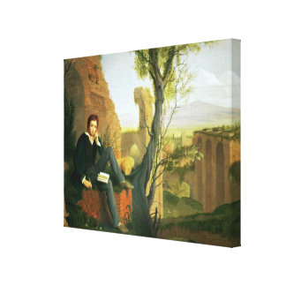 Percy Bysshe Shelley  1845 Canvas Print