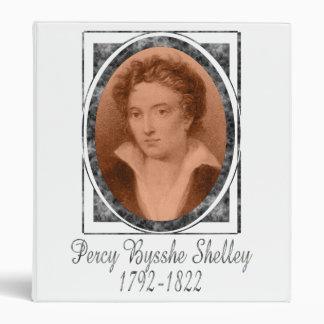 Percy Bysshe Shelley Vinyl Binder
