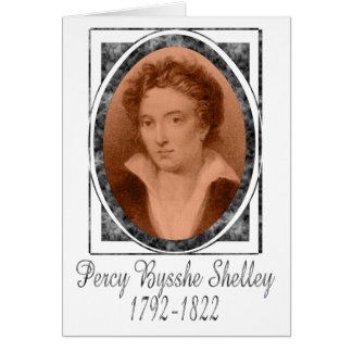 Percy Bysshe Shelley Card